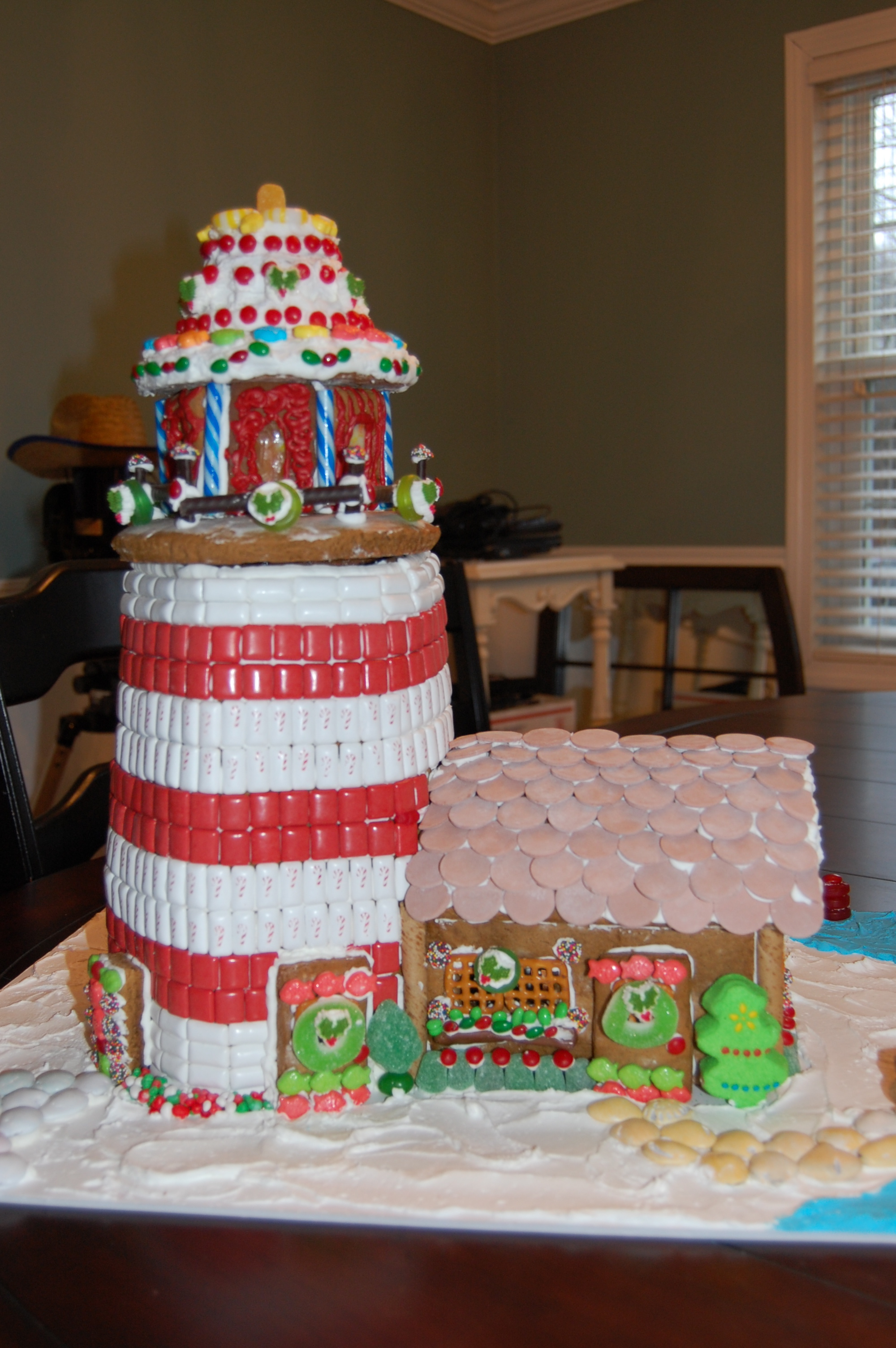 How To Recall An Email >> Best of Show and Adult First Place Kristen Snow and her Gingerbread Lighthouse   Christmas In ...